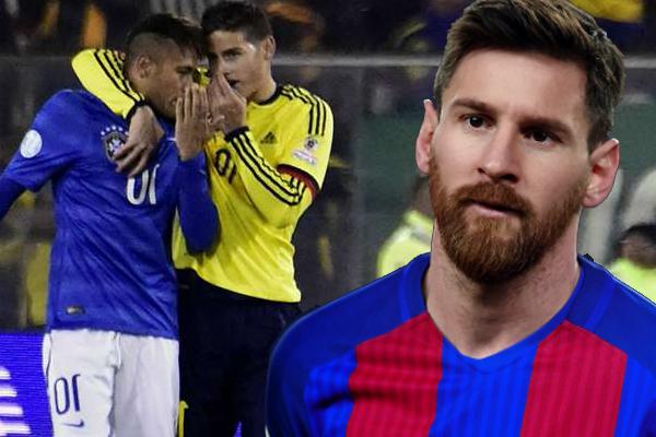 ميسي ذكر في جلسة ودية إنه يجب على رودريغيز أن يرحل عن صفوف ريال مدريد