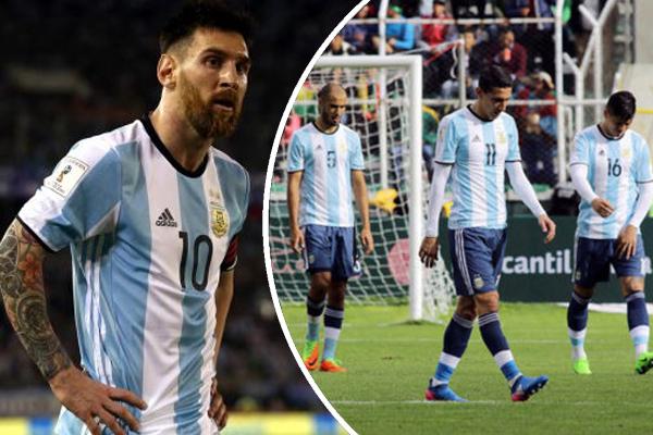 المنتخب الأرجنتيني تعرض في التصفيات المونديالية الحالية لإنتكاسة كبيرة خلال فترة غياب ميسي