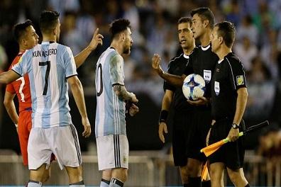 الاتحاد الأرجنتيني يستأنف عقوبة إيقاف الفيفا لميسي