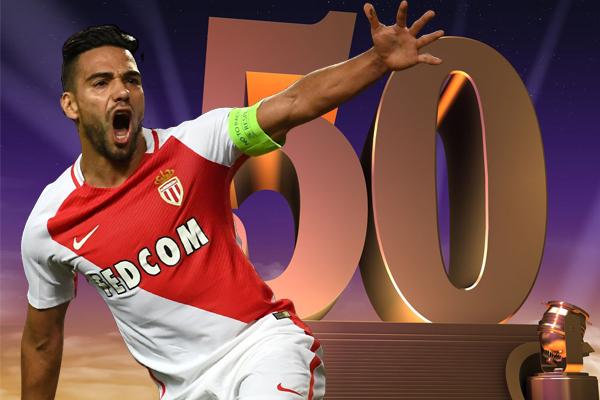 نجح النجم الكولومبي في تسجيل 45 هدف في 50 مباراة خاضها في البطولات الأوروبية