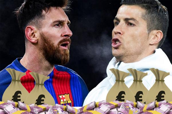 القيمة السوقية لليونيل ميسي تفوق كريستيانو رونالدو مهاجم ريال مدريد بـ40 مليون يورو