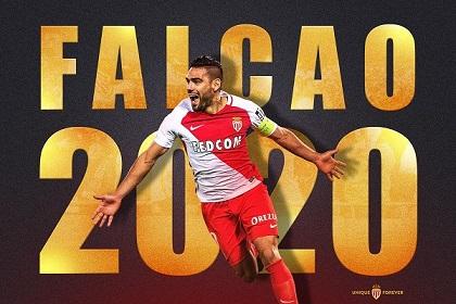 فالكاو يمدد عقده مع موناكو حتى 2020