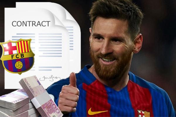 ميسي سيقوم بتجديد تعاقده مع برشلونة لمدة ثلاثة مواسم بالإضافة لموسم واحد اختياري