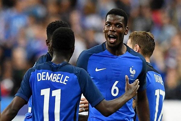 فرنسا بعشرة لاعبين تهزم إنكلترا في مباراة ودية