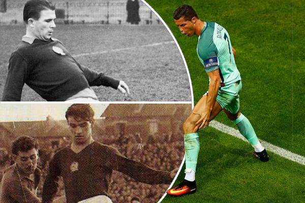 عزز المهاجم البرتغالي كريستيانو رونالدو فرصته في اللحاق بصدارة ترتيب الهدافين على صعيد المنتخبات الوطنية الأوروبية