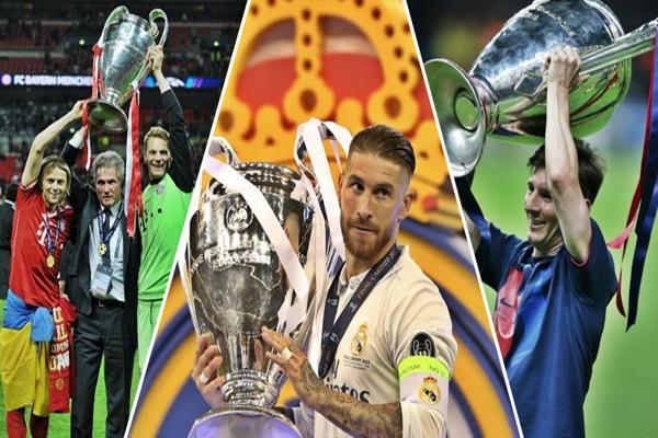 تصدر نادي ريال مدريد ترتيب الأندية الأوروبية التي شاركت في مسابقة دوري أبطال أوروبا منذ تأسيس البطولة في عام 1955