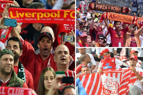 نشيد ليفربول وروما والوداد البييضاوي أفضل أناشيد الأندية في العالم