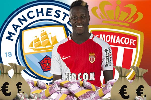 توصل موناكو ومانشستر سيتي الى اتفاق حول قيمة صفقة انتقال المدافع الدولي بنجامان مندي لقاء 57