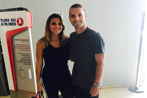 روبيرتو سولدادو وزوجته في اسطنبول
