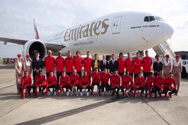 طيران الامارات لن تجدد عقد رعاية باريس سان جرمان بعد 2019