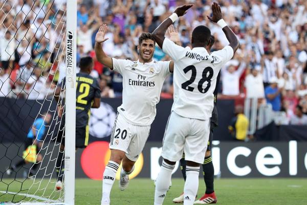 حقق ريال مدريد الاسباني فوزا كبيرا على يوفنتوس الايطالي 3-1