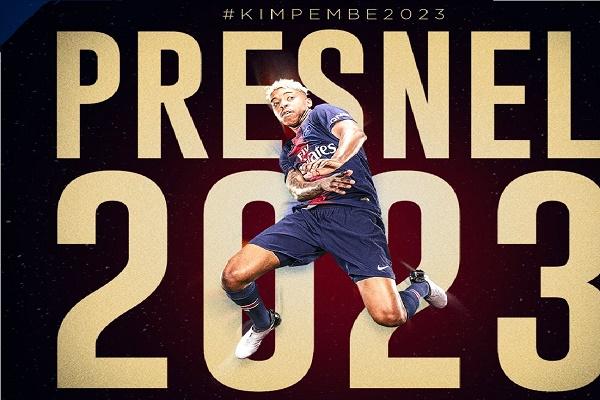 باريس سان جرمان يهدي كيمبيمبي في عيده تمديد عقده حتى 2023
