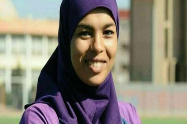 لاعبة كرة القدم المغربية مريم بويحد