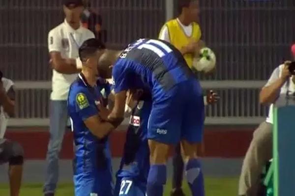 نعش الدفاع الحسني الجديدي المغربي حظوظه بالمحافظة على آماله في بلوغ دور ربع نهائي دوري أبطال أفريقيا