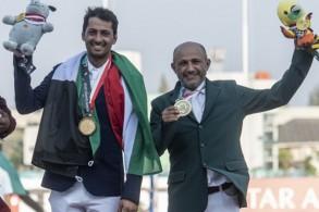 نال الفارس الكويتي علي الخرافي ذهبية المسابقة