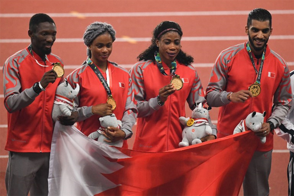 حققت العداءة البحرينية إيديديونغ أوفينيمي أوديونغ ذهبيتها الثانية في دورة الألعاب الآسيوية 2018، بتتويجها بسباق 200م