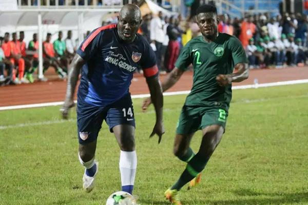 أقيمت المباراة ليل الثلاثاء في العاصمة الليبيرية مونروفيا، وانتهت بخسارة المضيف أمام نظيره 1-2