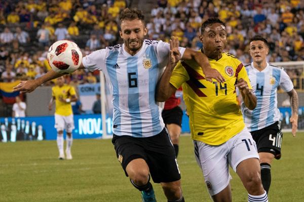 افتقد المنتخب الأرجنتيني الى الدقة في التمريرة الاخيرة في منطقة المنافس
