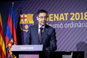 جوسيب ماريا بارتوميو رئيس نادي برشلونة الإسباني