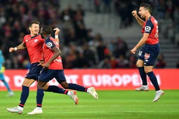 ليل ينفرد مؤقتا بوصافة الدوري الفرنسي