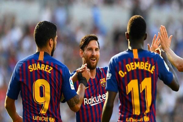 برشلونة يبدأ مشوار كسر سطوة ريال في دوري أبطال أوروبا