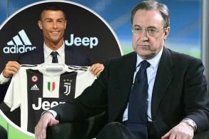 رئيس ريال مدريد يؤكد : رونالدو أصر على الرحيل لأسباب شخصية