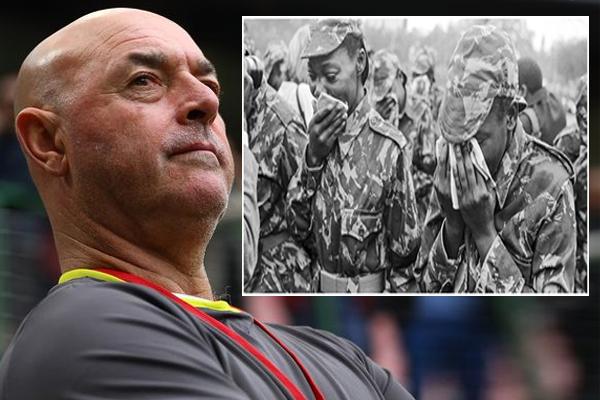 جروبيلار اجبر على قتل جنود خلال الحرب الأهلية الروديسية في سبعينات القرن الماضي