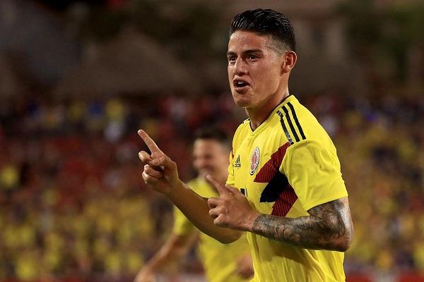 رودريغيز يقود كولومبيا للفوز على الولايات المتحدة وديا