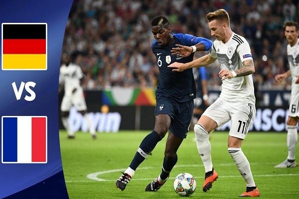 مواجهة التناقضات بين فرنسا وألمانيا في دوري الأمم الأوروبية