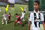 ابن رونالدو يواصل نثر سحره في الملاعب الإيطالية