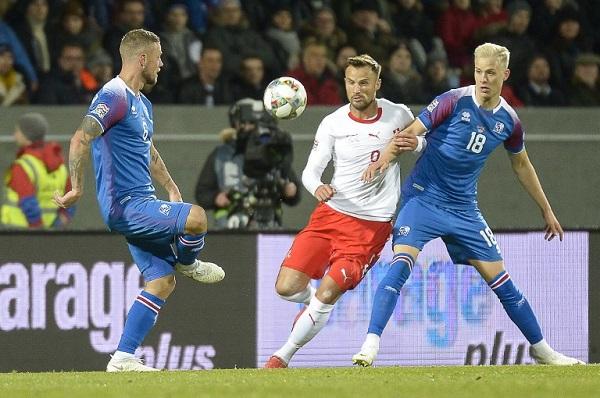سويسرا تعزز حظوظها في دوري الأمم الأوروبية بالفوز على إيسلندا