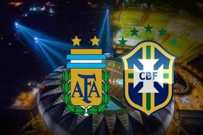 سوبر كلاسيكو بين البرازيل والأرجنتين على أرض السعودية