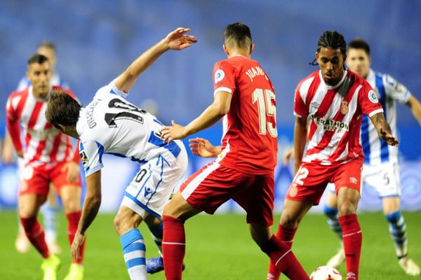 تعادل سلبي مخيب بين ريال سوسييداد وجيرونا في الدوري الإسباني