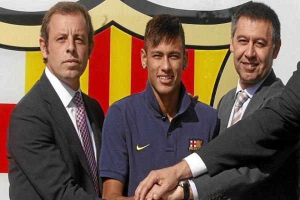 نيمار يواجه عقوبة السجن 6 سنوات لمخالفات في انتقاله إلى برشلونة