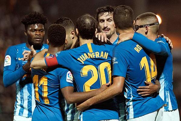 تغلب أتلتيكو مدريد على مضيفه سانت أندرو من الدرجة الرابعة