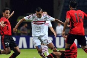 الزمالك ينجو من كمين الحدود بصعوبة في الدوري المصري
