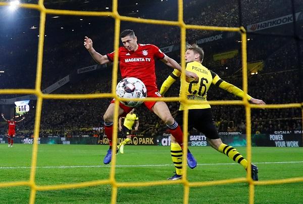 دورتموند يسقط بايرن ميونيخ في مباراة مشوقة