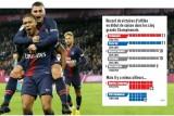 باريس سان جيرمان يحقق رقماً قياسياً جديداً في عدد الانتصارات المتتالية
