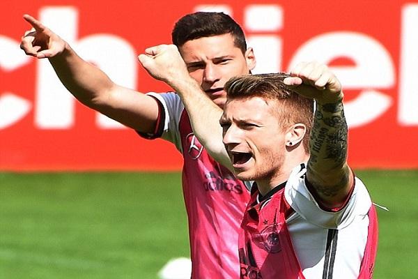 رويس يغيب عن تمارين المنتخب الألماني ودراكسلر يستأذن بسبب الحداد