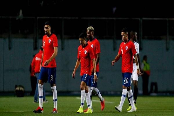 خسارة تشيلي أمام كوستاريكا 2-3 وديا