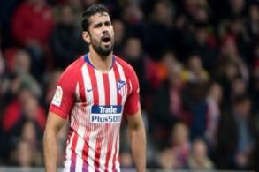 دييغو كوستا ينضم الى قائمة المصابين في أتلتيكو مدريد