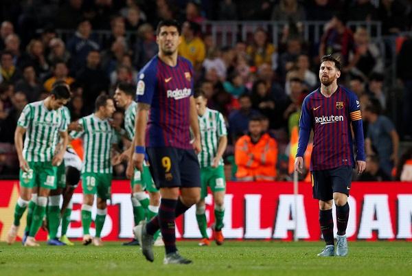 برشلونة يخسر في كامب نو للمرة الأولى منذ عامين