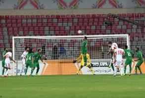 تعادل الأردن والسعودية 1-1 وديا