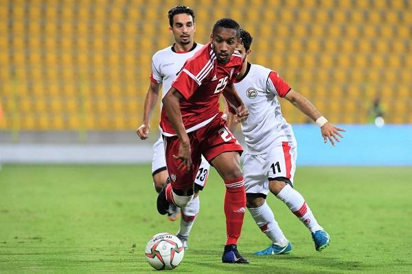 الإمارات تحقق على حساب اليمن فوزا أول بعد ثلاث مباريات