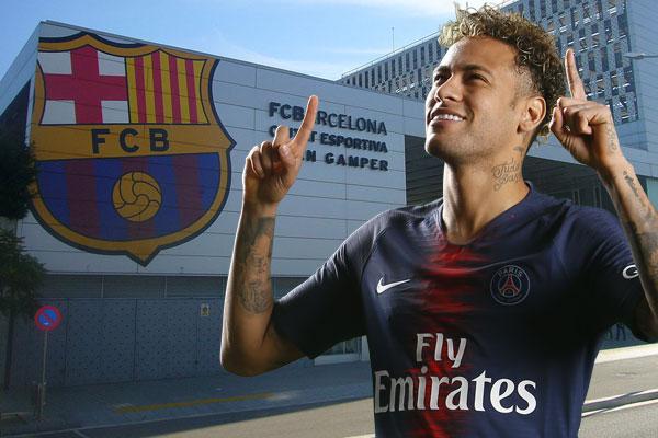 إدارة باريس سان جرمان قد حددت سعر عودة نيمار إلى برشلونة بقيمة تبلغ 200 مليون يورو
