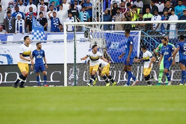 النصر ينتزع التعادل من الهلال في دربي الرياض