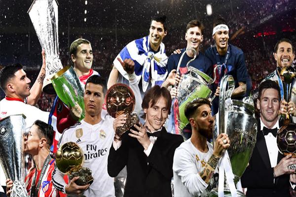حققت الأندية الإسبانية خلال العام الجاري العلامة الكاملة في المسابقات الثلاث