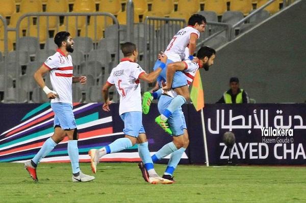 الزمالك يفوز بمباراته المؤجلة ويبتعد في صدارة الدوري المصري