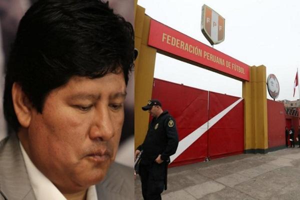 الشرطة توقف رئيس الاتحاد البيروفي في قضية فساد