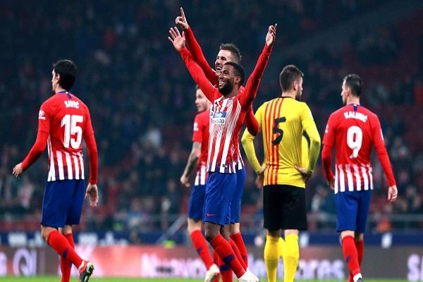 أتلتيكو يجدد فوزه على سانت أندرو ويتأهل إلى دور الـ 16 من كأس إسبانيا